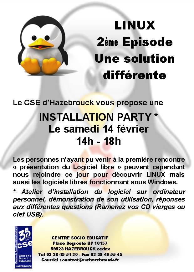 L 39 agenda du libre install party - Point p hazebrouck ...